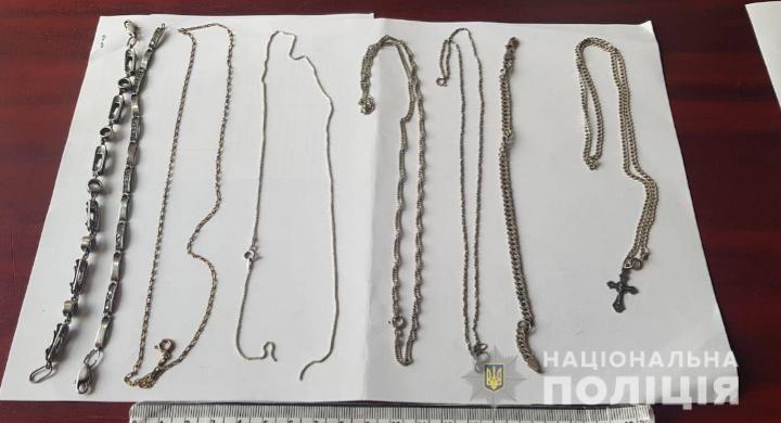 """""""Нічні гості"""" з кримінальним шлейфом: у Бучі поліція виявила іноземців із сумкою, в якій знайшла канабіс та ювелірні вироби"""