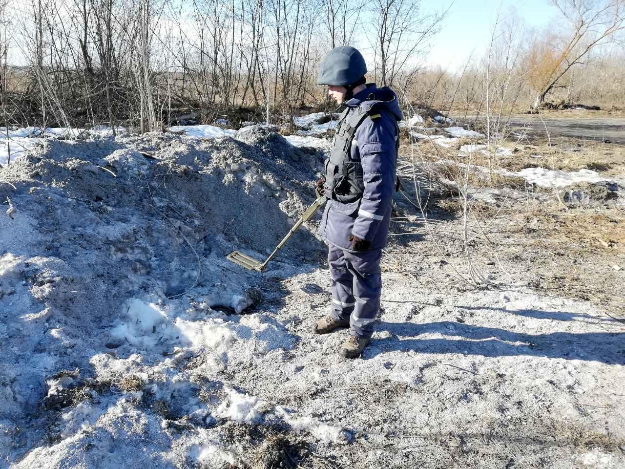 На Київщині знешкоджено авіабомбу та снаряд