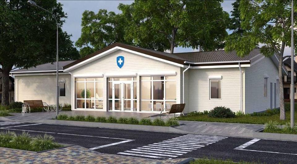 На Білоцерківщині будують нову амбулаторію сімейної медицини