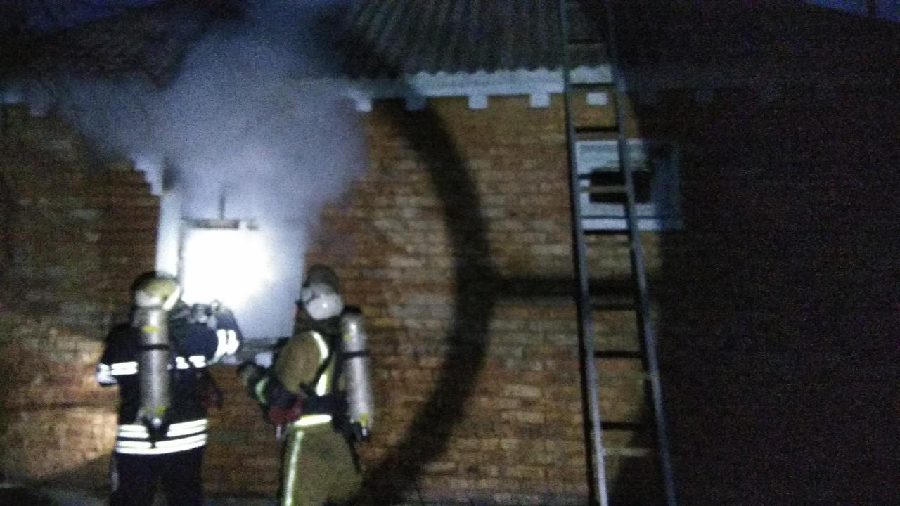 На Білоцерківщині загорівся приватний будинок