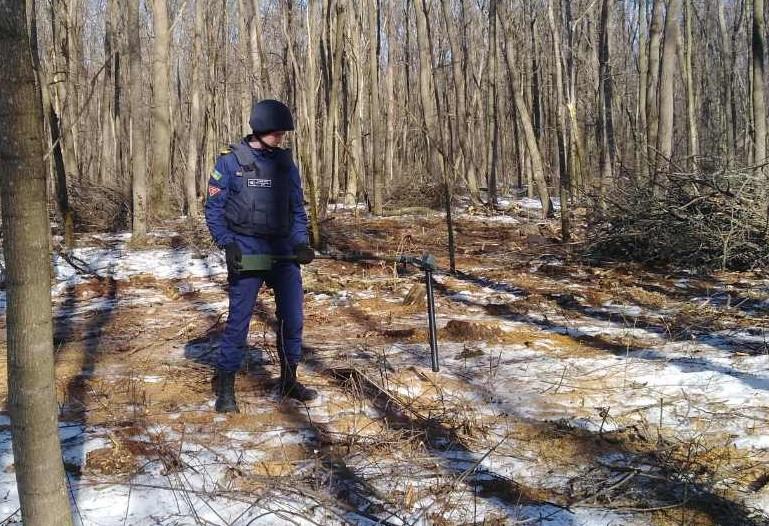 На Білоцерківщині знайшли 27 предметів, що могли вибухнути