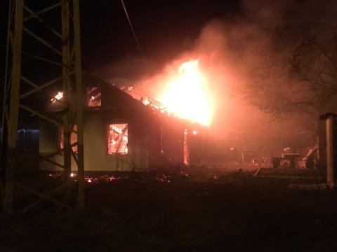 У Фастові на ліквідацію пожежі залучили пожежний потяг