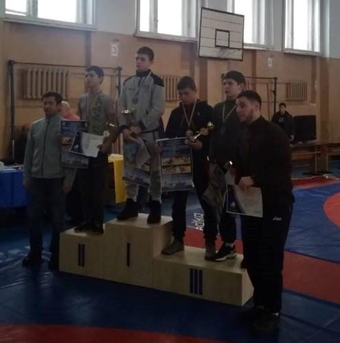 Вихованці Білоцерківського ліцею вибороли нагороди на турнірі з вільної боротьби