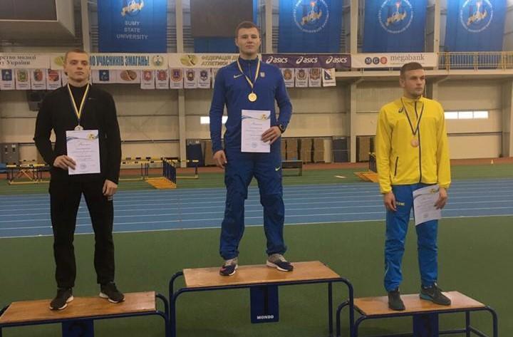 Випускник Білоцерківського спортліцею встановив Національний рекорд у семиборстві