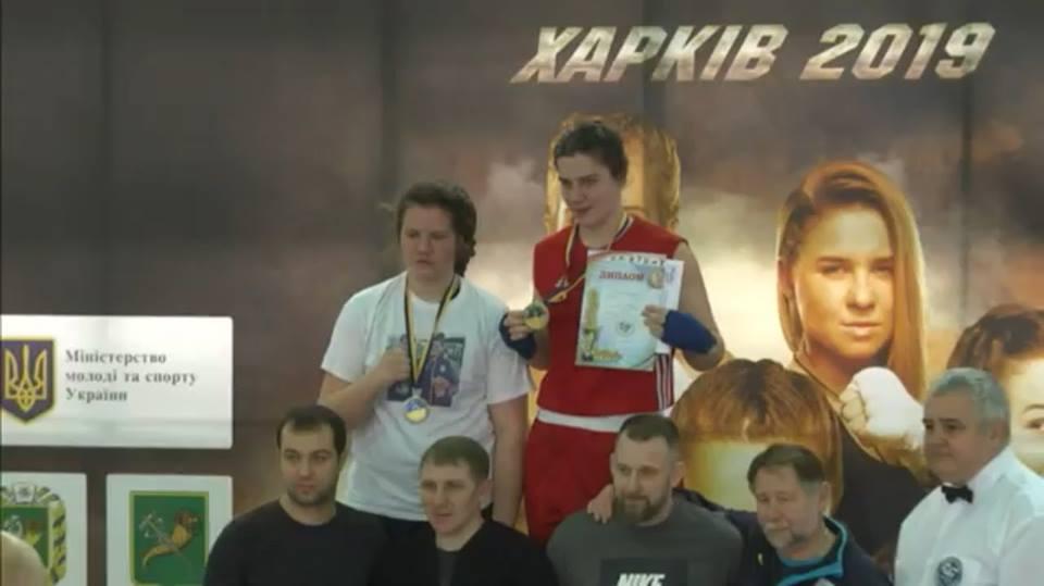 Боксерка з Броварів - віце-чемпіонка України з боксу