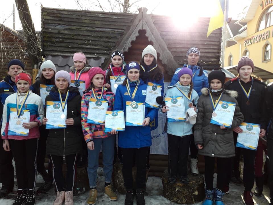 В Броварах пройшов чемпіонат Київщини з лижних гонок