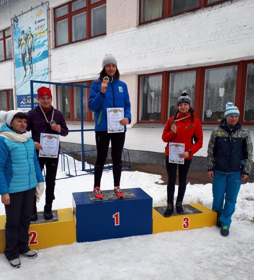 Лижники Київщини вдало виступили на чемпіонаті України