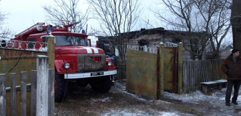У Поліському районі на Київщині в пожежі загинула людина