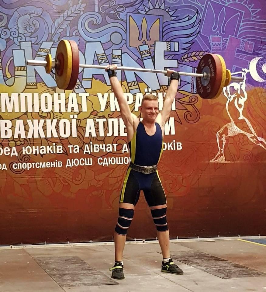 Важкоатлет зі Славутича бронзовий призер чемпіонату України