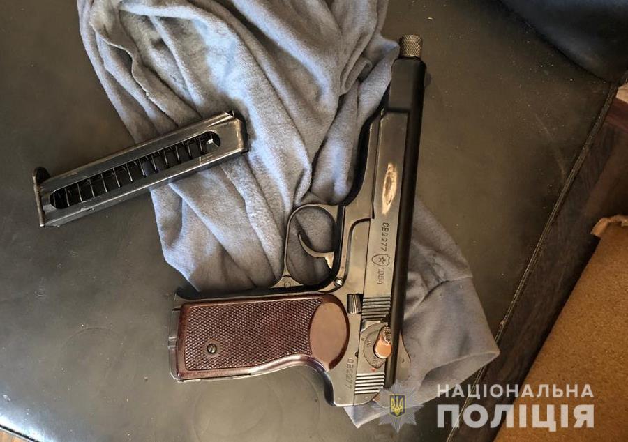 Вимагання та стрілянина на Броварщині