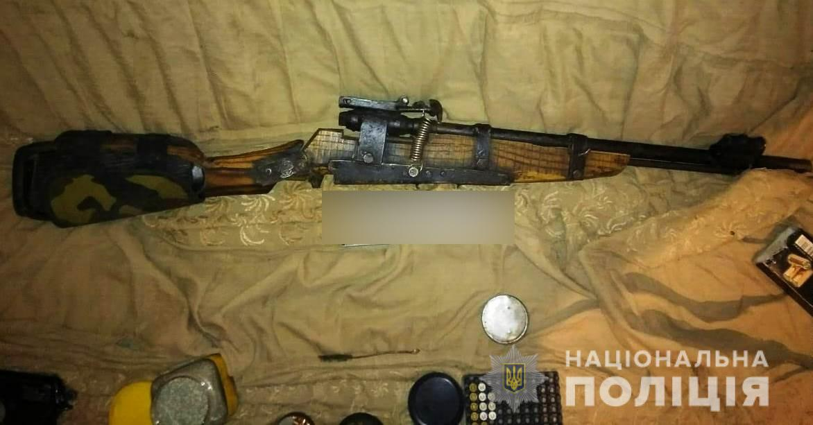 На Богуславщині та в Таращі вилучено зброю