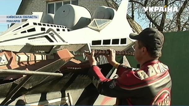 На Київщині чоловік власноруч зібрав фантастичний автомобіль -  - 0403 avto
