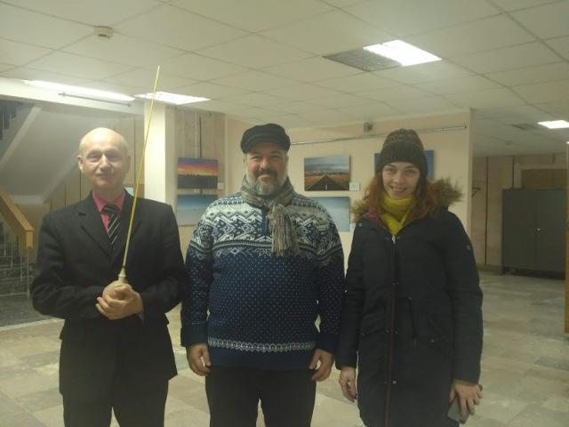 Професор з Хіросіми зустрівся з мешканцями Славутича