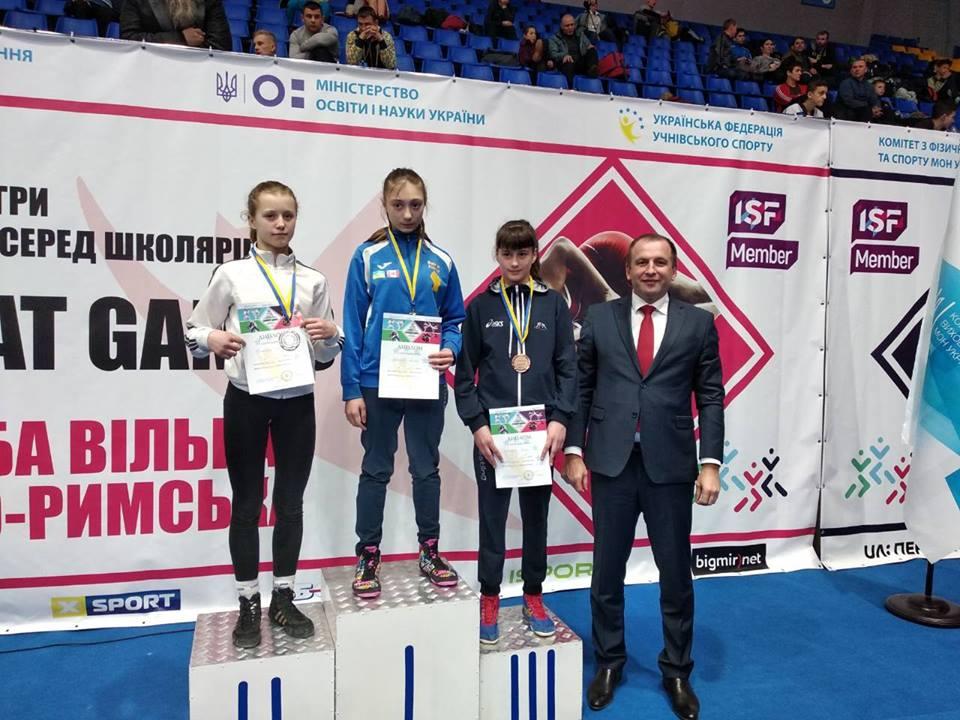 Представники Київщини вдало виступили на всеукраїнських іграх з єдиноборств