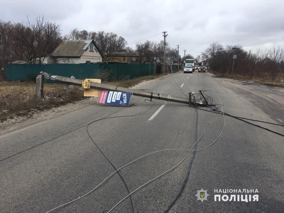 Броварські поліцейські долають наслідки сильних поривів вітру