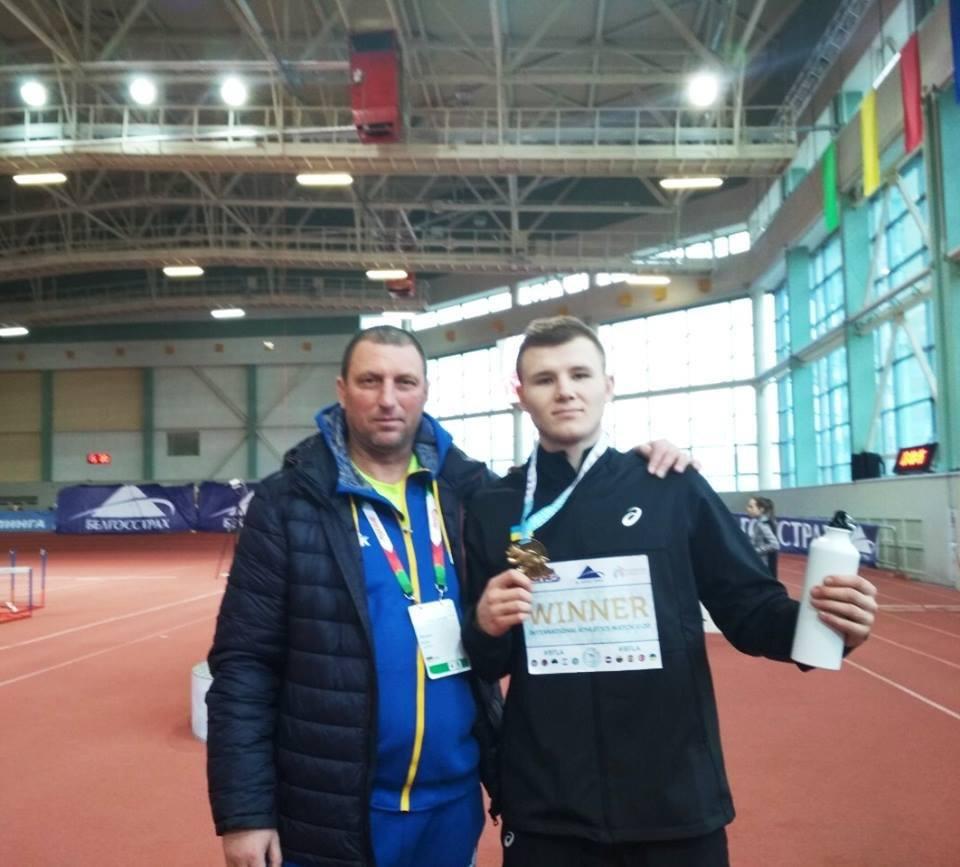 Легкоатлет з Київщини переміг на міжнародному турнірі