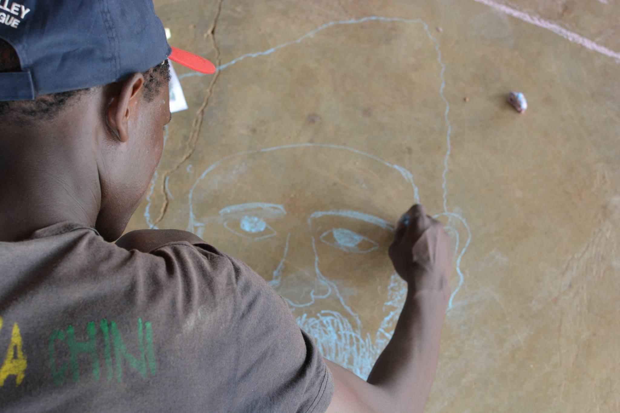 Діти Кенії малювали Тараса Шевченка