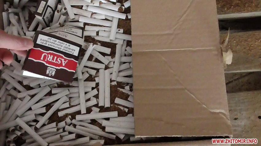 На Броварщині та Кагарличчині виявлено підпільні цехи з незаконного виготовлення цигарок