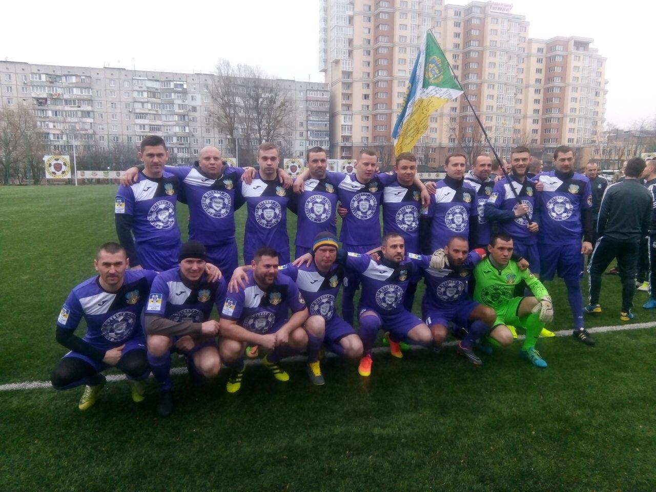"""Броварський """"Побратим"""" стартував у всеукраїнській лізі учасників АТО"""