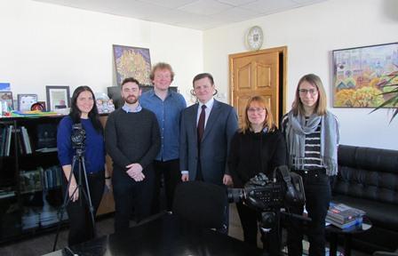 У Славутичі британці знімуть документальне кіно
