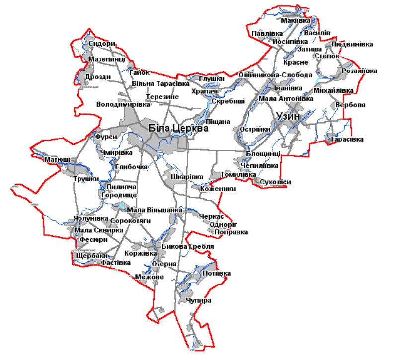 На Білоцерківщині планують оновити генплани сіл району