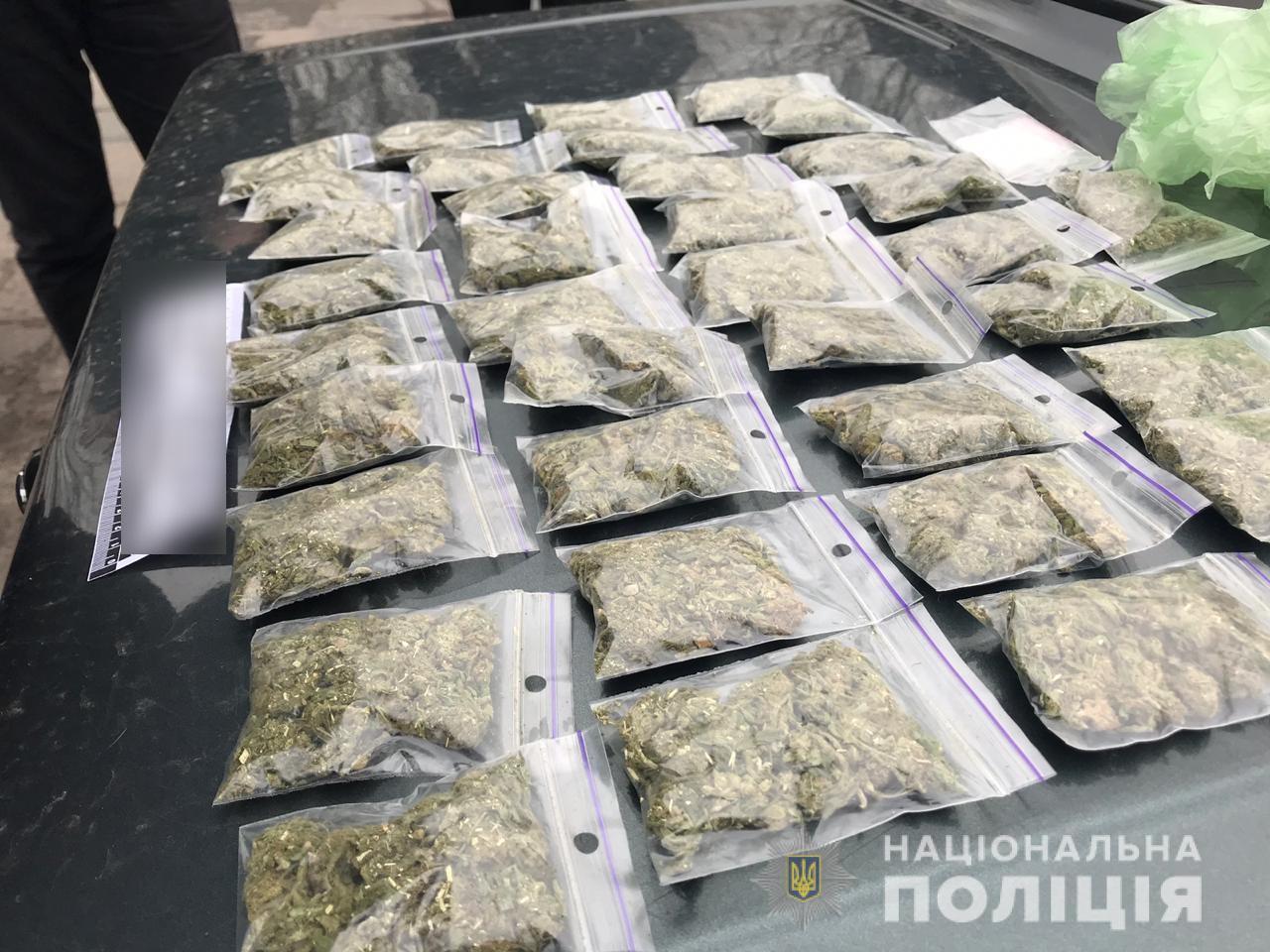 Канабіс на 40 тисяч гривень: в Ірпені безробітний продавав наркотичне зілля