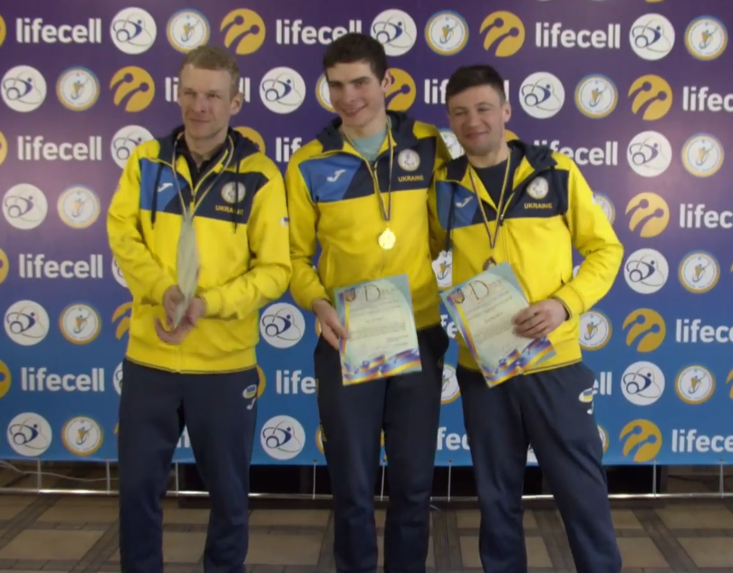 Лижники-паралімпійці з Броварів на почесному п'єдесталі чемпіонату України