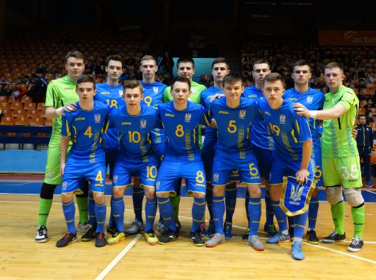Юнацька збірна України з футзалу готуватиметься до Євро в Броварах