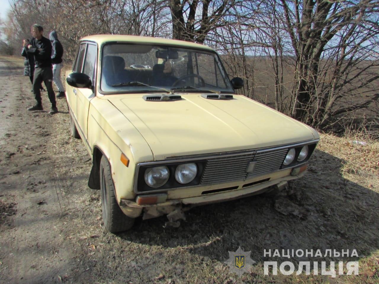 На ручному буксирі: на Сквирщині викрали авто без пального
