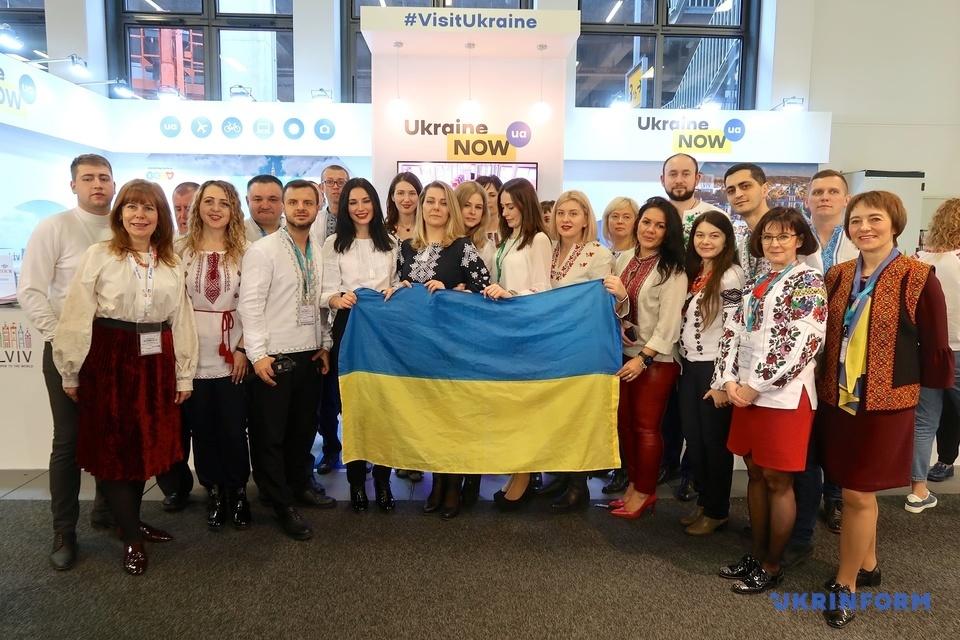 Україна презентує себе на найбільшій у світі туристичній виставці