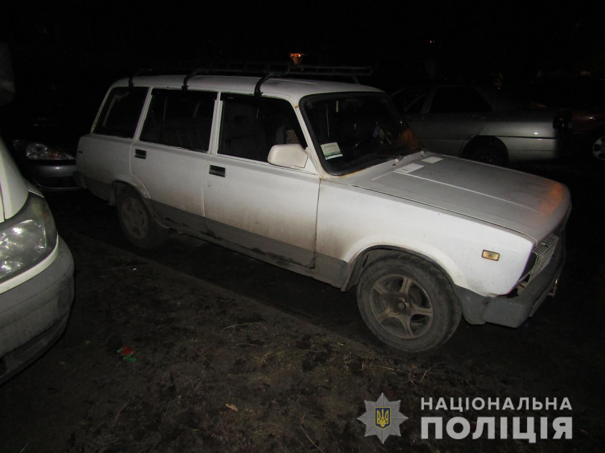 У Броварах затримано викрадачів авто