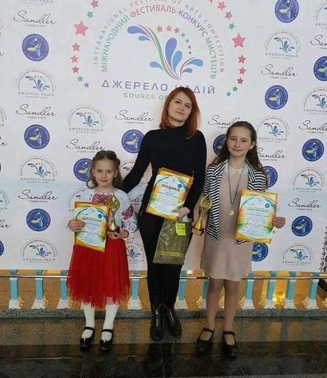 Юні фастівські піаністки відзначились на міжнародних фестивалях