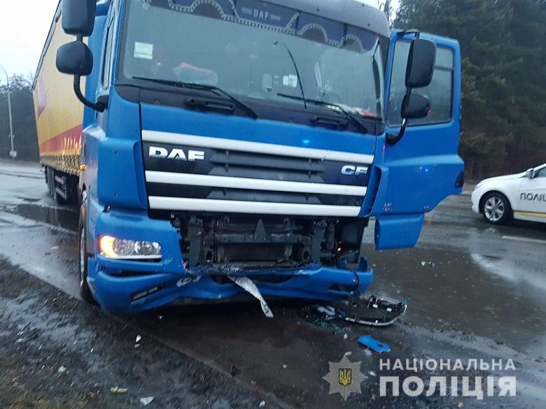 П'ятеро постраждалих в ДТП поблизу Вишгорода
