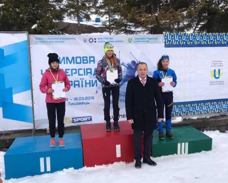 Гімназіада України з лижних гонок: золото, срібло та бронза спортсменів з Броварів