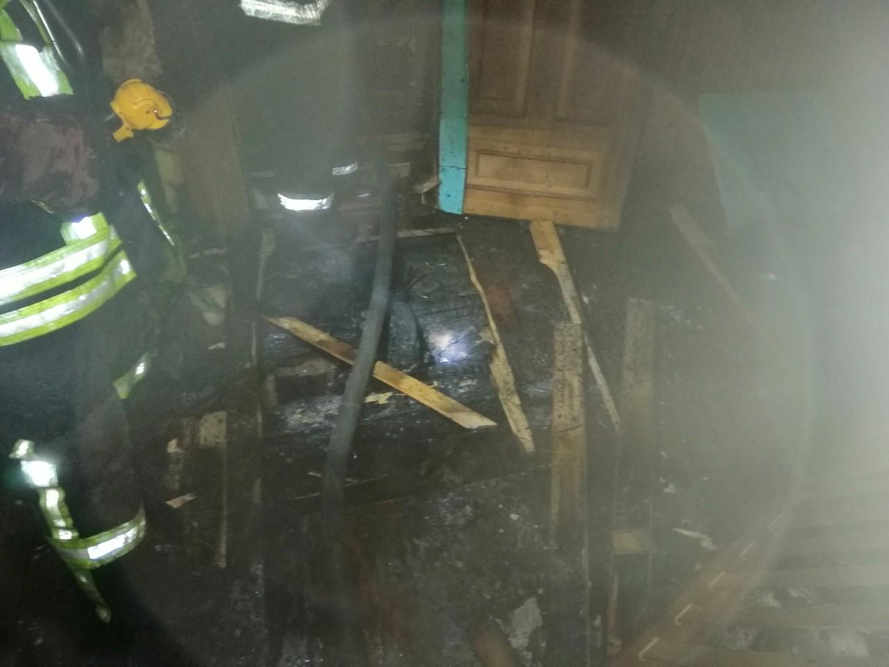 У Боярці вогонь охопив житловий будинок