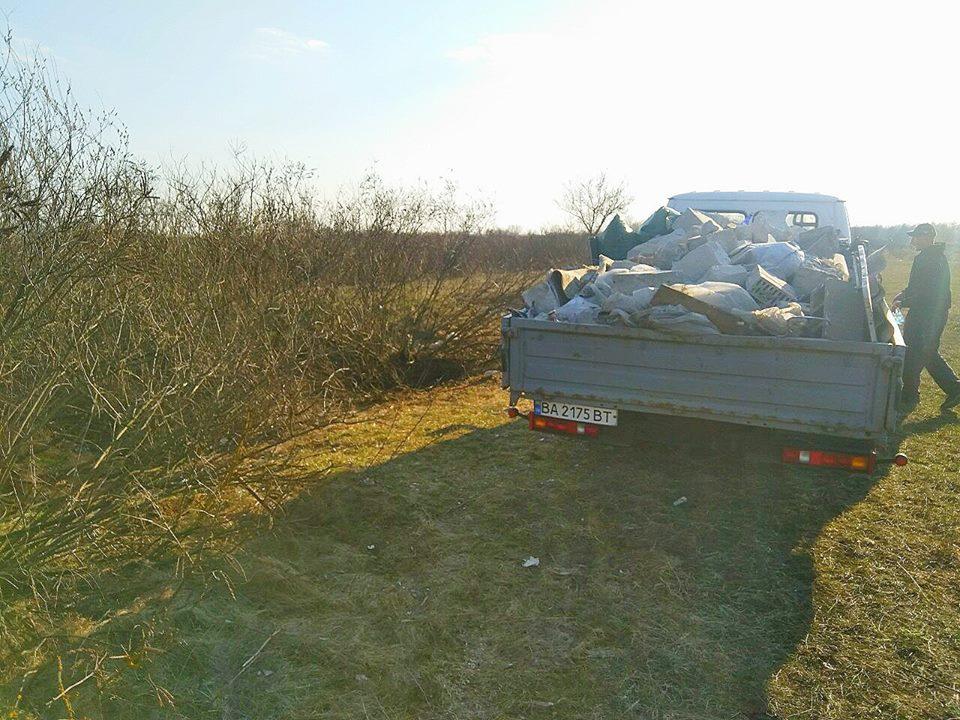 0405_Smittya_Desna3 У Вишгородському районі «сміттєвого порушника» знайшли через годину