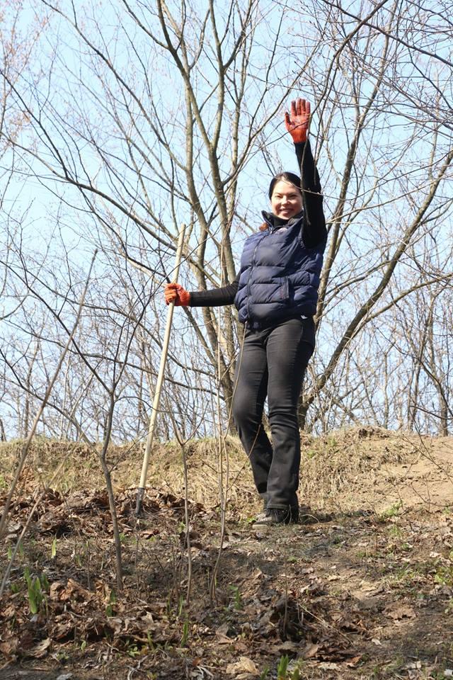 Сьогодні у Вишгороді відбулась екологічна акція - прибирання, київщина, Екологічна акція, Вишгород - 0406 Vyshgorod VIKZ prybyr2