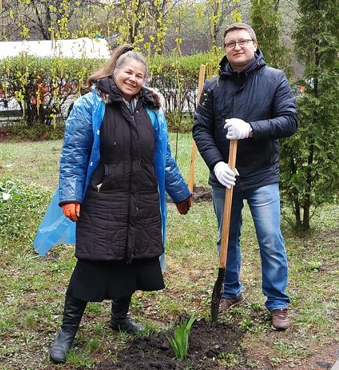 «Посади своє дерево»: у Вишгороді біля центральної райлікарні буде парк - київщина, екологія, Вишгородська районна рада, Вишгород - 0412 tOLOKA4 OBRIZ
