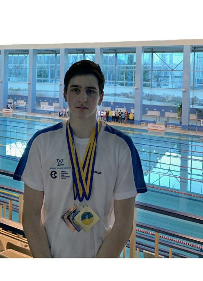 Юний вишгородець встановив кілька рекордів з плавання - юні спортсмени, рекорд, переможці, київщина, Вишгород, Австрія - 0415 Tkachenko