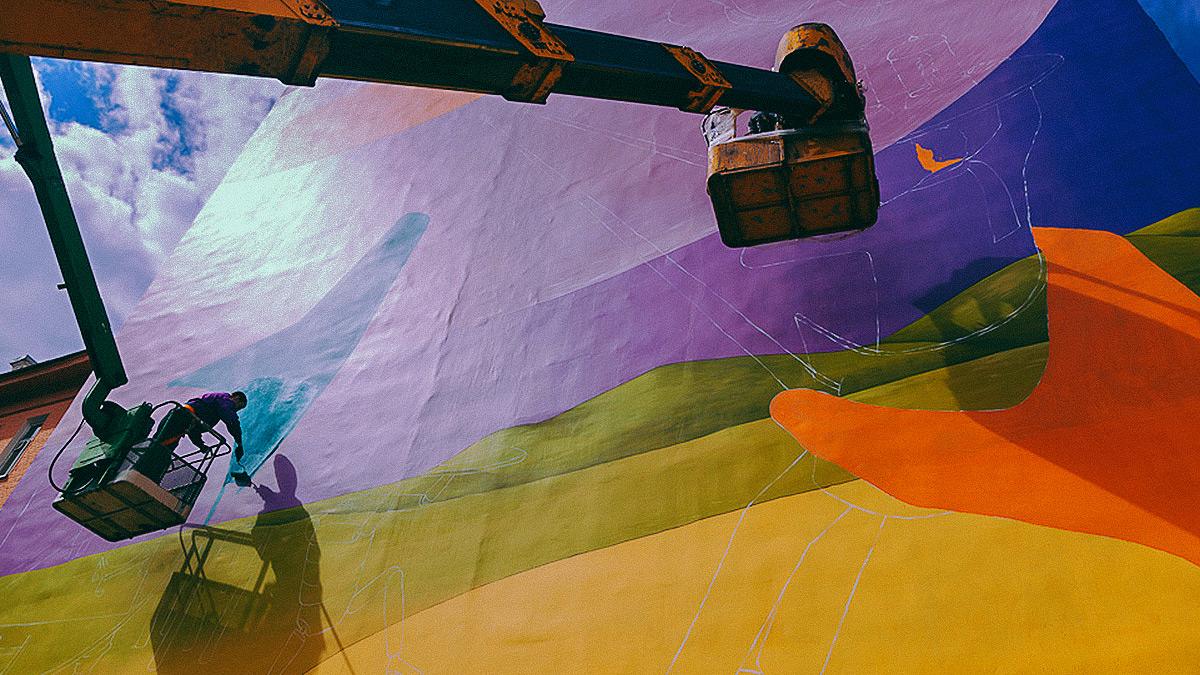 Стіни ЧАЕС прикрасить величезний малюнок -  - 1622808 06