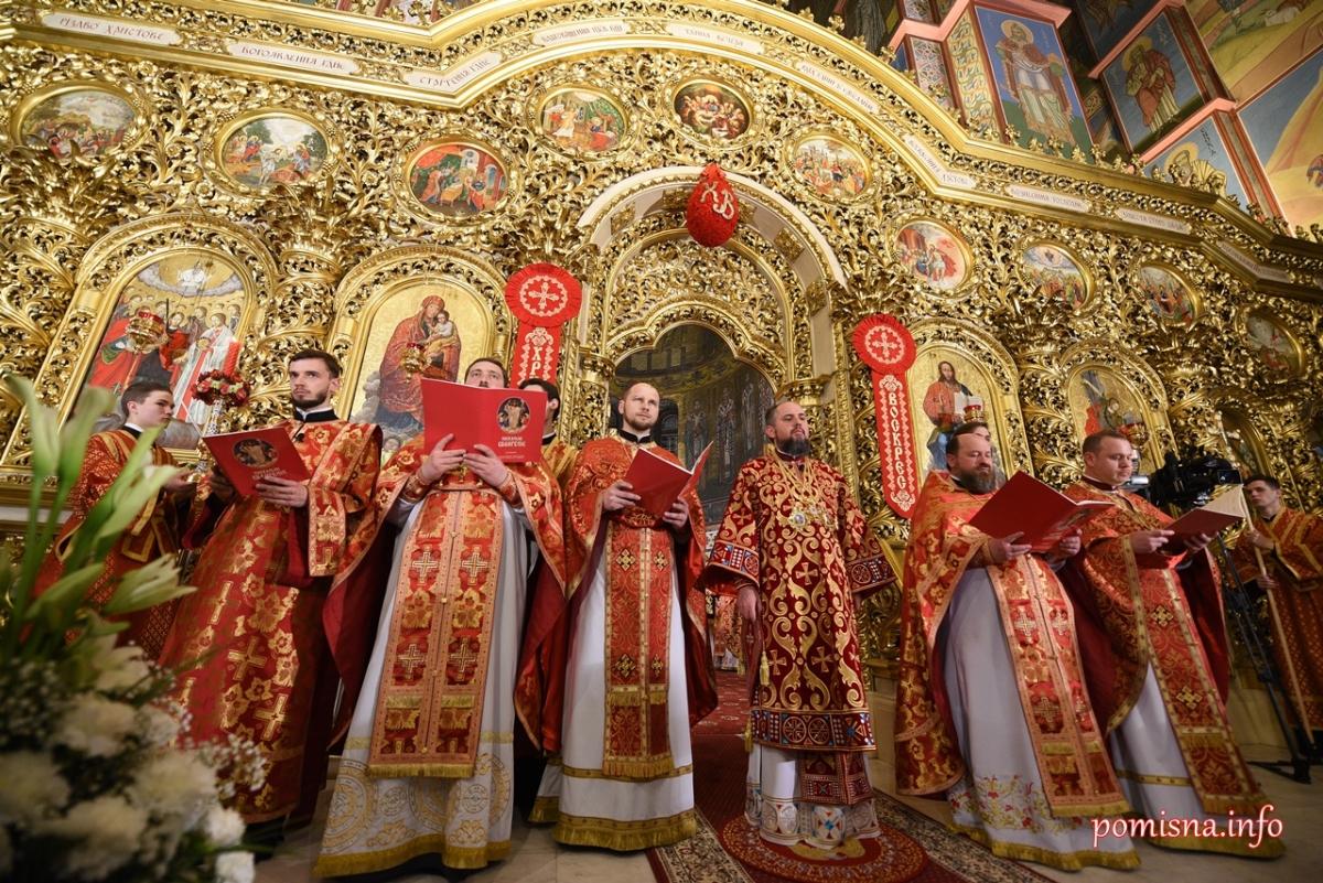 Особливості цьогорічних Пасхальних богослужінь у Свято-Михайлівському Золотоверхому соборі -  - 1AAA