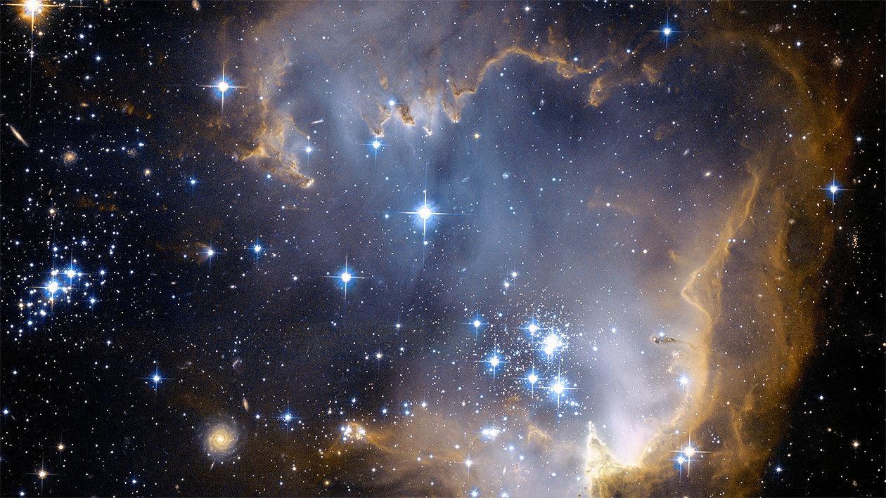 Вчені довели головну теорію еволюції Всесвіту - Великий вибух - 2004 vsesvit