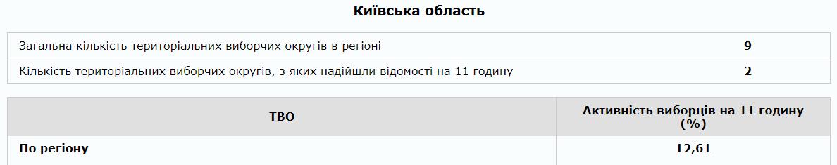 У Київській області вже проголосувало 12,61% виборців - Вибори президента України 2019, Вибори 2019, вибори - 2104 yavka kyev obl
