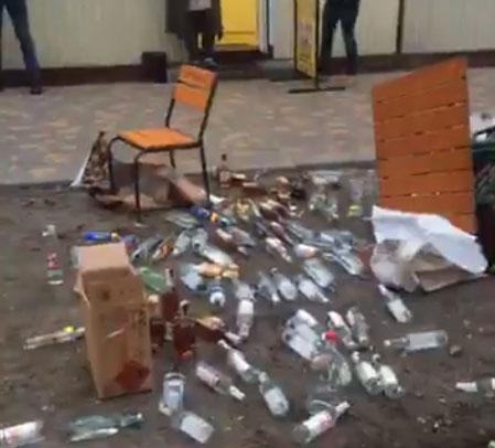 """У Борисполі борються із """"наливайками"""" -  - 454654454"""