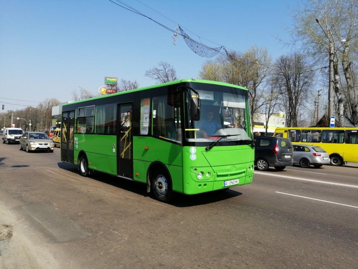 Зміни в розкладі руху маршрутного транспорту на Великдень по Борисполю та району -  - 53 zmni v rozklad na velikde