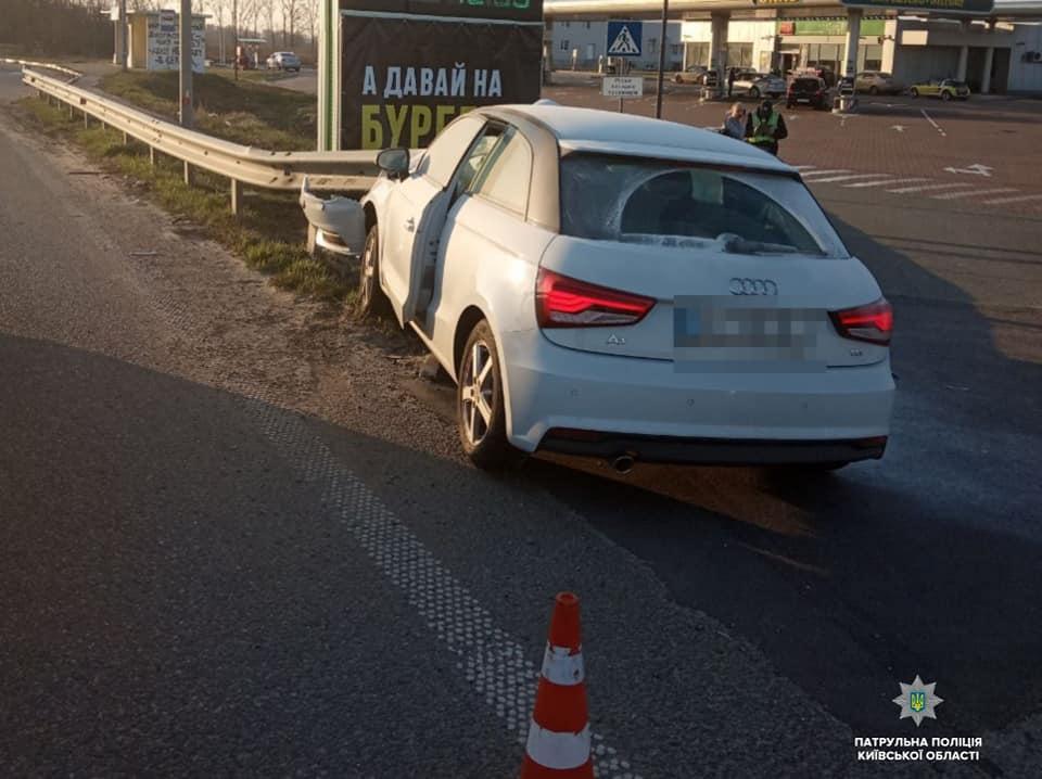 Бориспільщина: авто наскочило на металеве дорожнє огородження - Поліція, ДТП - 56237633 1365350766971846 204429083101102080 n
