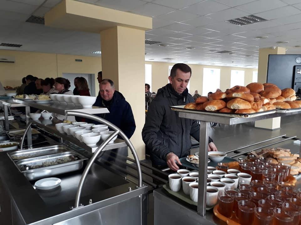 Нова їдальня на 100 осіб з'явилась у Чорнобилі