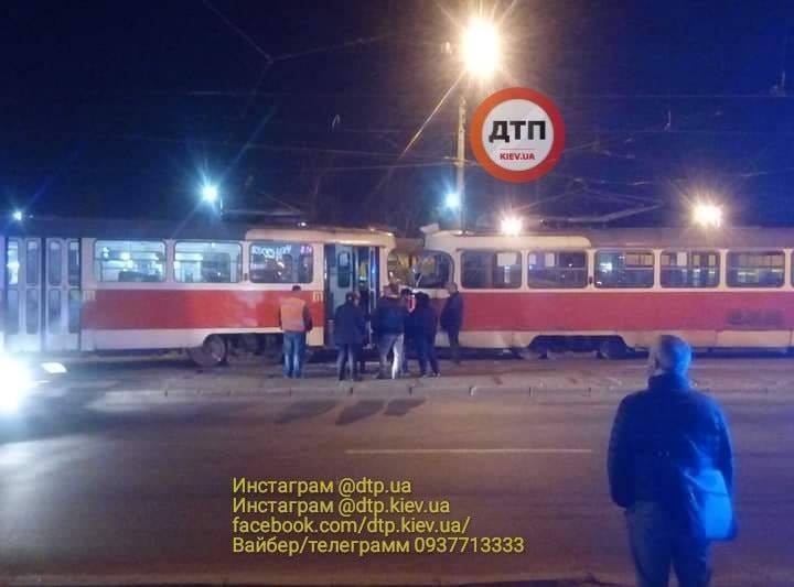 56931904_1297991483700075_7883979785448194048_n Лобова ДТП: 2 трамваї не змогли розминутися
