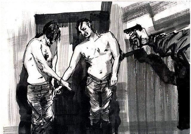 57213871_286685132223991_6400032872027127808_n В столиці відкриється виставка художника Сергія Захарова присвячена війні на Донбасі