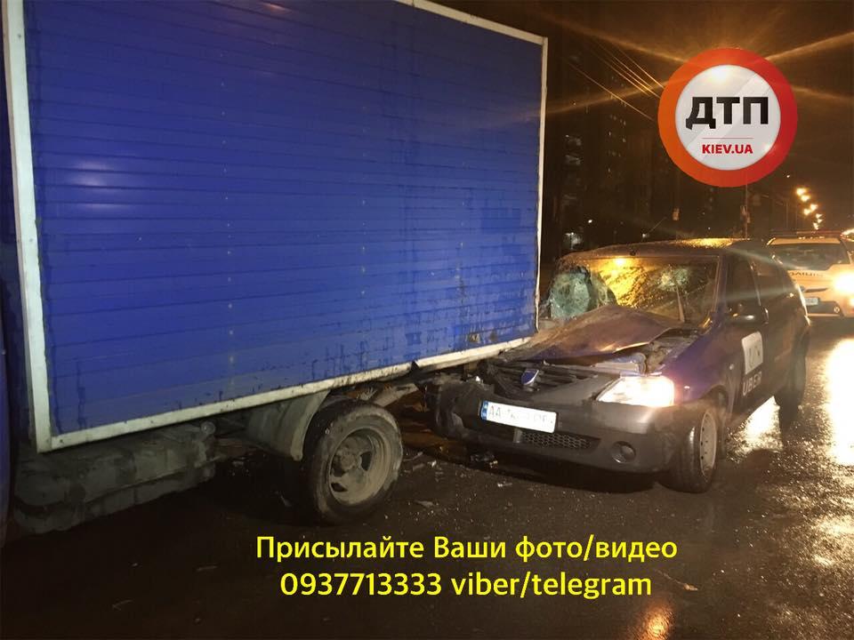 У Києві водій Uber влаштував ДТП та втік -  - 57308920 1304114896421067 6269729126249136128 n